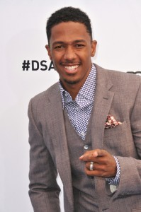 Nick Cannon will come by The Chew to talk about his new poetry collection Neon Aliens Ate My Homework and Other Poems. (Featureflash / Shutterstock.com)