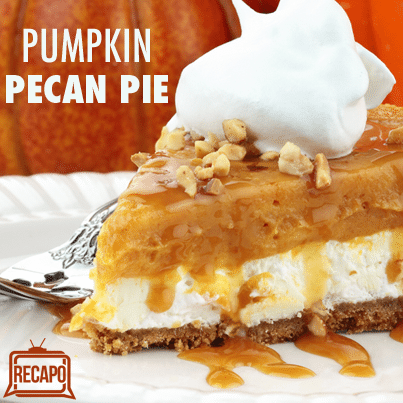 The Chew: Carla Hall Pumpkin Pecan Pie Recipe & Pie Rolling Pointers