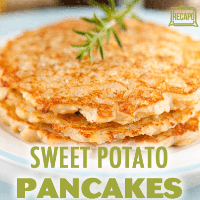 Gelman: Sweet Potato Pancakes + Mashed Coconut Sweet Potatoes Recipe