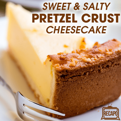 The Chew: Michael Symon's Grandpa's Pretzel Crust Cheesecake Recipe