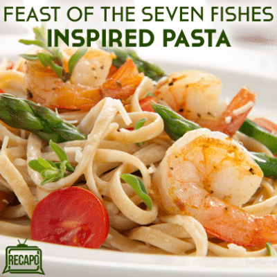 Feast of the Seven Fishes: Scallop, Shrimp & Squid Tagliatelle Recipe