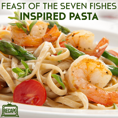 Feast of the seven fishes scallop shrimp squid for Seven fishes recipe