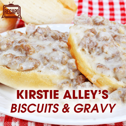 The Chew Christmas: Kirstie Alley Sausage Gravy & Biscuits Recipe