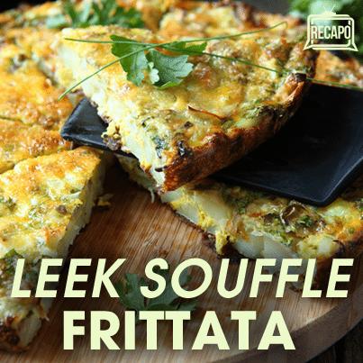 Rachael Ray: Leek Souffle Frittata Recipe & What is a Frittata?