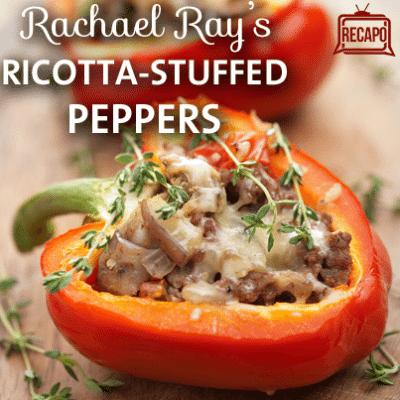 Rachael Ray Ratatouille: Ratatouille & Ricotta-Stuffed Peppers Recipe