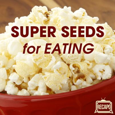 Dr Oz: Wheat Germ Popcorn Seasoning & Chia Seeds in Pancakes?