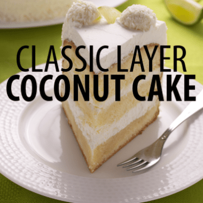 The Chew Southern Dessert: Fave Carla Hall Coconut Layer Cake Recipe