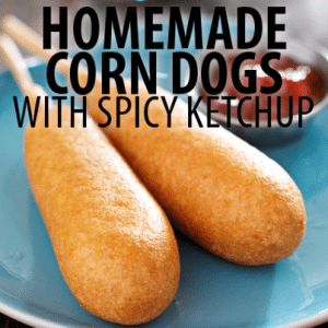 The Chew: Michael Symon Corn Dogs Recipe with Lola Spicy Ketchup