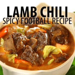 The Chew Chili Cook-Off: Mario Batali Lamb Chili Recipe