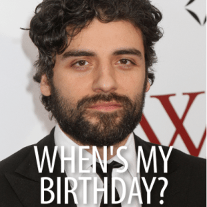 Kelly + Michael: Inside Llewyn Davis Star Oscar Isaac Real Birthday