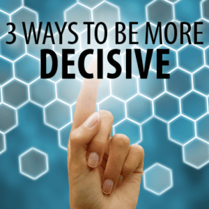 Dr Oz: 3 Ways To Be More Decisive & Circle of Truth for Decisionmaking
