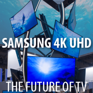 """CES 2014: InMotion SCV, MakerBot + Samsung 65"""" Curved UHD TV Review"""