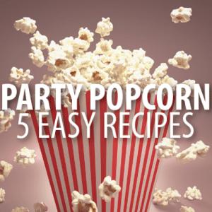 Paprika, Ballpark, Salt & Vinegar, Buffalo + Pizza Popcorn Recipes