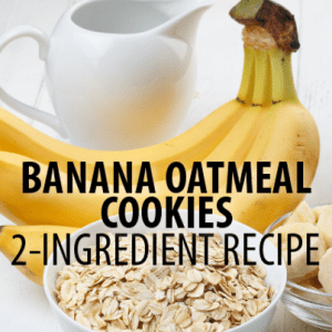 Two-Ingredient Banana Oatmeal Cookies, Cheese Crisps + Egg Drop Soup