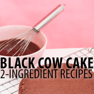 2-Ingredient Energy Bars, Egg Nog Muffins & Black Cow Cake Recipe