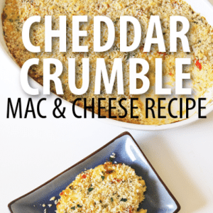 The Chew Mac + Cheese: Carla Hall Mac & Cheese Cheddar Crumble Recipe