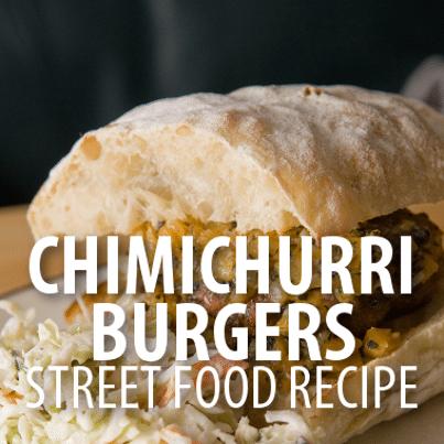 Rachael Ray Dominican Republic Style Chimichurri Burgers Recipe