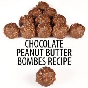 The Chew: Carla Hall Frozen Chocolate Peanut Butter Bombe Recipe