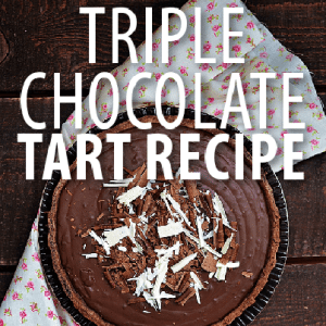 Carla Hall Triple Chocolate Tart Recipe: The Chew Chocolate Dessert
