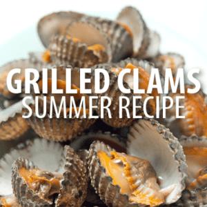 The Chew: Michael Symon Easy Grilled Clams Recipe & Mango Daiquiri