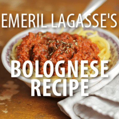 Rachael Ray: Emeril Lagasse True Bolognese Recipe with Dr Phil
