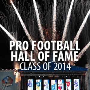 Pro Football Hall of Fame Class of 2014 & Talking Cars Safety