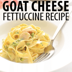 The Chew: Mario Batali Goat Cheese Fettuccine Recipe with Toni Braxton