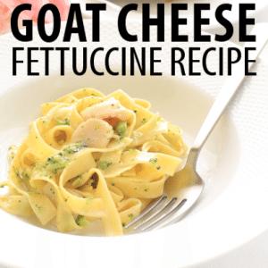 The Chew: Mario Batali Goat Cheese Fettuccine Recipe with Toni Braxton