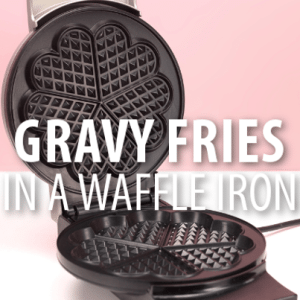 Rachael Ray: Poutine French Fry Waffles Recipe with Donnie Wahlberg
