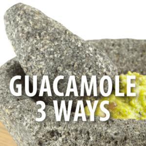Pineapple & Jicama Guacamole Recipe | Pea, Pistachio + Radish Guac