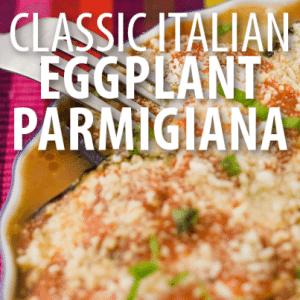 Rachael Ray: Deep-Dish Eggplant Parmigiana Recipe with Pomodoro Sauce