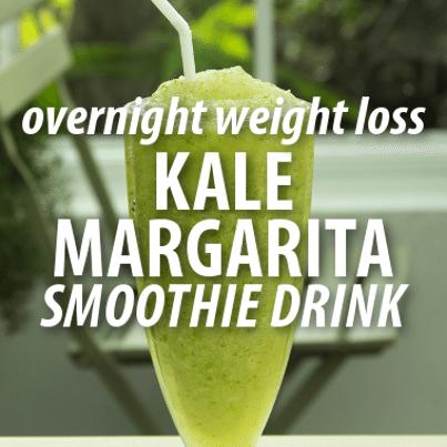 Dr Oz: Kale Margarita Smoothie Recipe Overnight Diet Secret Ingredient