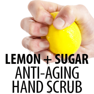 Dr Oz: Lemon Sugar Licorice Hand Scrub Recipe for Sun Spots Damage