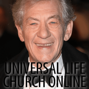 Kelly & Michael: Sir Ian McKellen Universal Life Church + Repertory