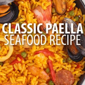 The Chew Dinner Party: Mario Batali 1986 Paella Recipe with Rouille