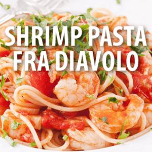 Rachael Ray: Caramelized Shrimp Fra Diavolo Recipe with Linguini