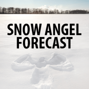 End Winter Now Forecast, Canada Ice Man + Anthony Johnson Snow Angel