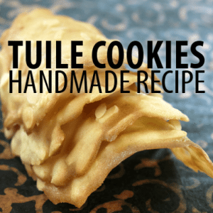 The Chew: Carla Hall Chocolate Tuiles Recipe with Chocolate Mousse