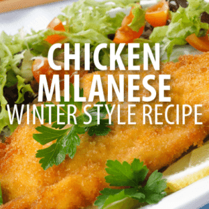 Rachael Ray: Bobby Flay Basic Chicken Milanese Recipe with Winter Kale