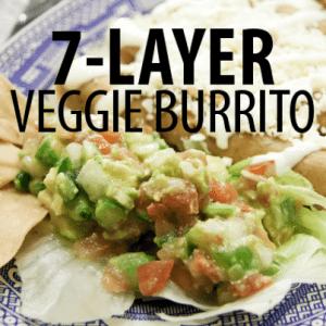 Rachael Ray: Healthy Vegetarian Seven-Layer Burritos Recipe with Guac