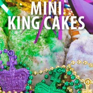 The Chew: Carla Hall Mini King Cakes Recipe + Grown Up Daiquiri