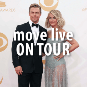 Ellen: Hough Siblings Move Live On Tour + Justin Timberlake New Video