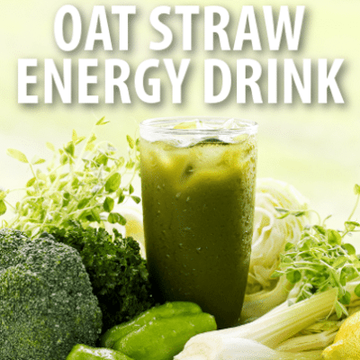 Dr Oz: Oatstraw Energy Drink Recipe + Oat Straw Extract Review
