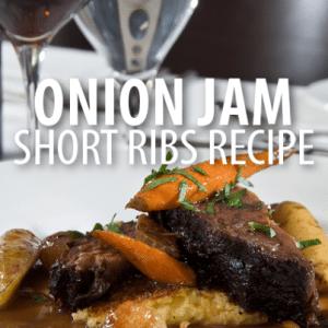 The Chew: Carla Hall Onion Jam Short Ribs Recipe with Chris Harrison
