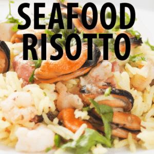 The Chew: Mario Batali Seafood Risotto Recipe + Scott Foley Scandal Cast