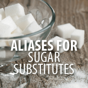 Dr Oz: Sugar Substitute Aliases + Artificial Sweetener Step Down Plan