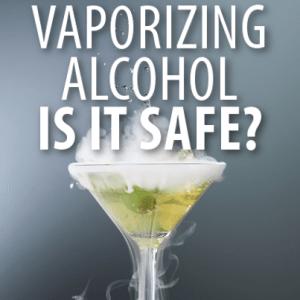 Dr Oz: Vaporizing Alcohol Experiment & Dangerous Side Effects?