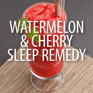 Dr Oz: Watermelon Cherry Drink Recipe & Kefir Milk To Stay Asleep