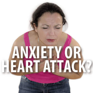 Dr Oz: Chest Pain Anxiety Attack & Heart Attack Crushing Pain