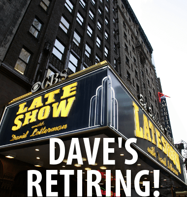 David Letterman Retiring in 2015 & New York Mets Paternity Leave